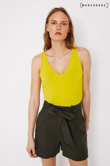 Warehouse V-Neck Vest Top