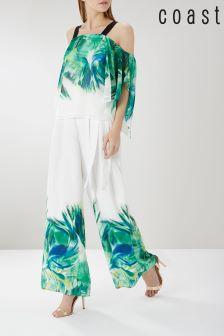 Coast White Ocho Print Trouser