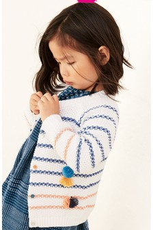 Stripe Tassel Cardigan (3mths-6yrs)