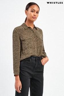 Whistles Mini Ikat Animal Shirt