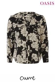 Oasis Black Curve Bold Bloom Shirt