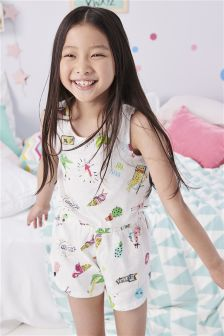 Character Playsuit (3-16yrs)
