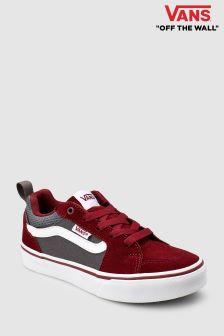 Vans Red/Grey Filmore