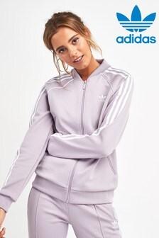 adidas Originals Lilac Superstar Track Top