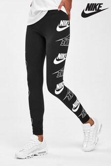 Nike Black Leg-A-See Logo Leggings