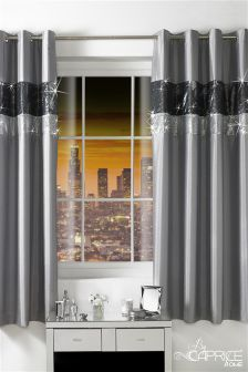 Caprice By Caprice Adriana Eyelet Curtains