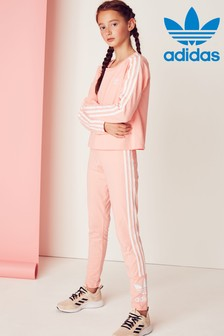 adidas Originals Pink Lock Up Leggings