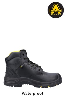 Amblers Safety Black AS303C Wrekin Lace-Up Waterproof Boots