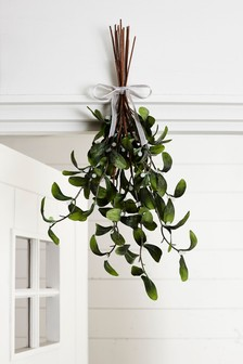 Large Artificial Mistletoe Bundle