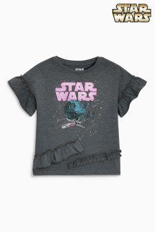 Star Wars™ T-Shirt mit Rüschen (3-16yrs)