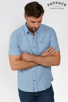 FatFace Cruise Bugle Linen Cotton Shirt