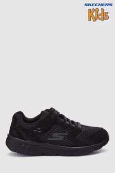 Skechers® Black Go Run 400 Field Dash Lightweight Gore Sneaker