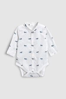 Dog Print Shirtbody (0mths-2yrs)