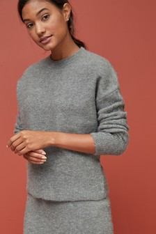 Ripple Sleeve Jumper