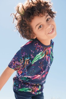 Digital Print Floral T-Shirt (3-16yrs)