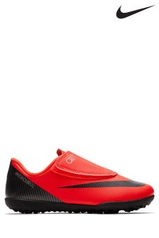 Nike Red CR7 VaporX Turf Velcro