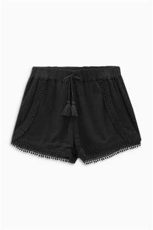 流苏短裤 (3-16岁)