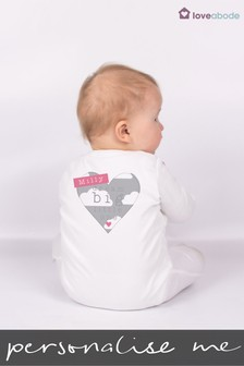Personalised Dream Big Little One Sleepsuit by Loveabode