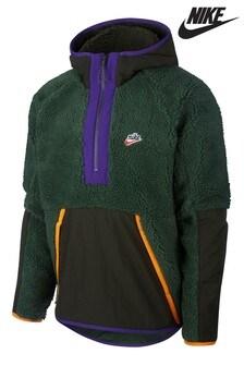 Nike Heritage Polar Fleece 1/2 Zip Hoody