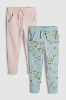 Floral Joggers Two Pack (3-16yrs)