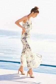 Sukienka z nadrukiem Maxi