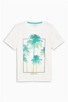Palm Printed T-Shirt