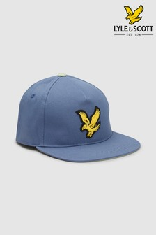 Lyle & Scott Eagle Flat Cap
