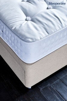 2800 Natural Mattress Divan Set By Sleepeezee