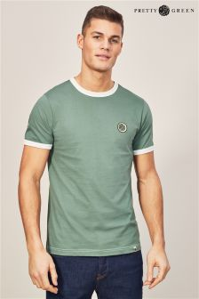 Pretty Green Green Milford T-Shirt