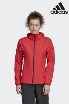 adidas Terrex Red Agravic Wind Jacket