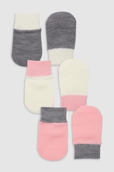Mittens Three Pack (Younger)