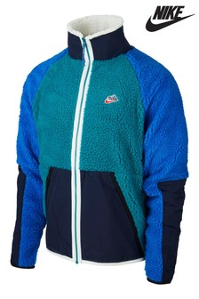 Nike Heritage Polar Fleece Zip Through Jacket