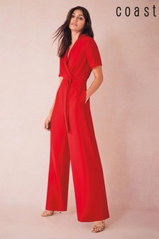 Coast Red Robyn Jumpsuit