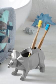 Porte-brosse à dent à motif dinosaure
