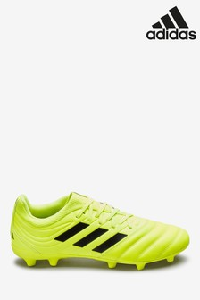 adidas Yellow Hardwired Copa Firm Ground Football Boots