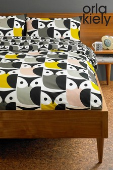 Orla Kiely Big Owl Duvet Cover