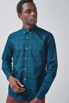 Overdyed Check Shirt