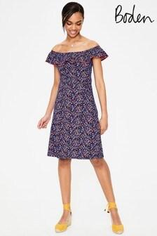 Boden Blue Bethany Jersey Dress