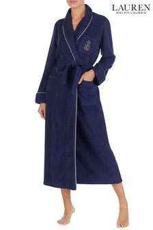 Lauren Ralph Lauren® Blue Dalton Fleece Robe