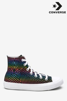 Converse Rainbow Star High Trainers