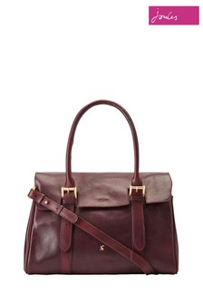 Joules Brown Durham Tote Leather Bag