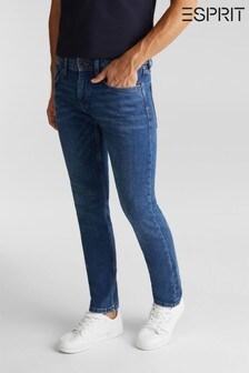 Esprit Blue Tapered Denim Pants