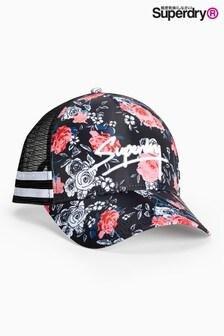 Superdry Floral Print Trucker Cap