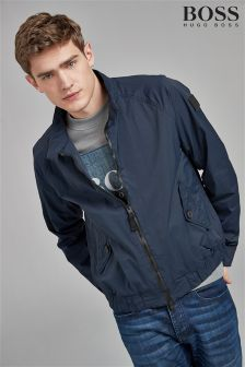 BOSS Navy Harrington Jacket