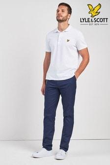 Темно-синие брюки чинос Lyle & Scott Golf Fidra