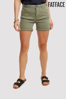 FatFace Green Grace Garment Dye Short