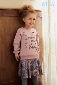 Wheat Girls Mary Poppins Quote Jumper