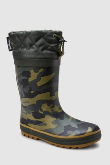 Thinsulate™ Cuff Wellies (Older)