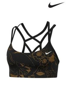 Nike Floral Metallic Bra