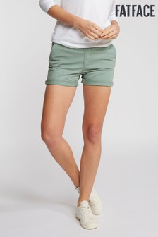 FatFace Green Padstow Chino Short
